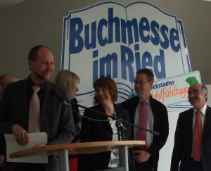 """Preisverleihung des Literaturpreises der """"Buchmesse im Ried 2011"""""""